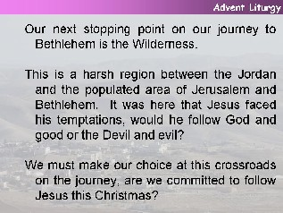 Ideas for advent 4 year a for Idea door journey to bethlehem