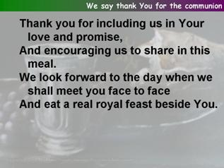 The post communion prayerfrom all included for november
