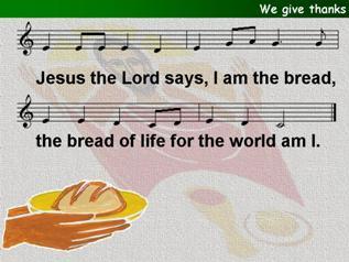 At the breaking of the Bread